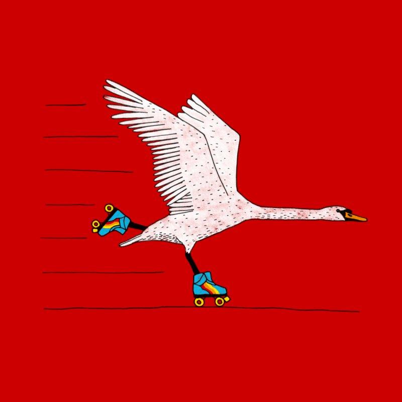 Skating Swan by Martina Scott's Shop