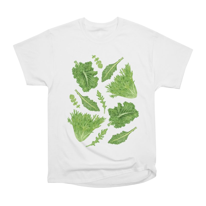 Leafy Men's Heavyweight T-Shirt by Martina Scott's Shop