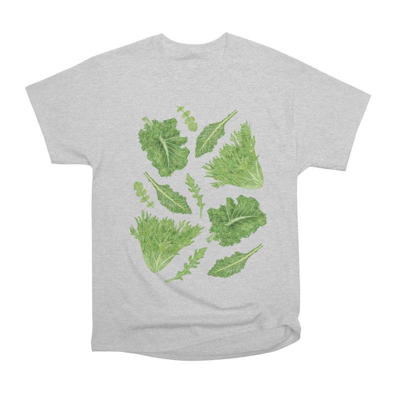 Leafy Women's Heavyweight Unisex T-Shirt by Martina Scott's Shop