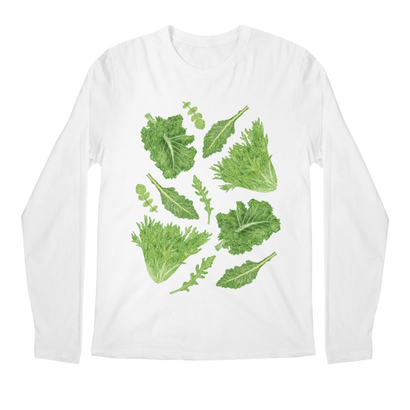 Leafy Men's Regular Longsleeve T-Shirt by Martina Scott's Shop