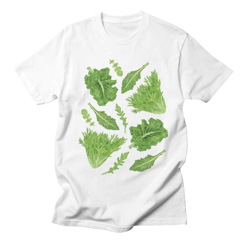 Leafy Women's Regular Unisex T-Shirt by Martina Scott's Shop