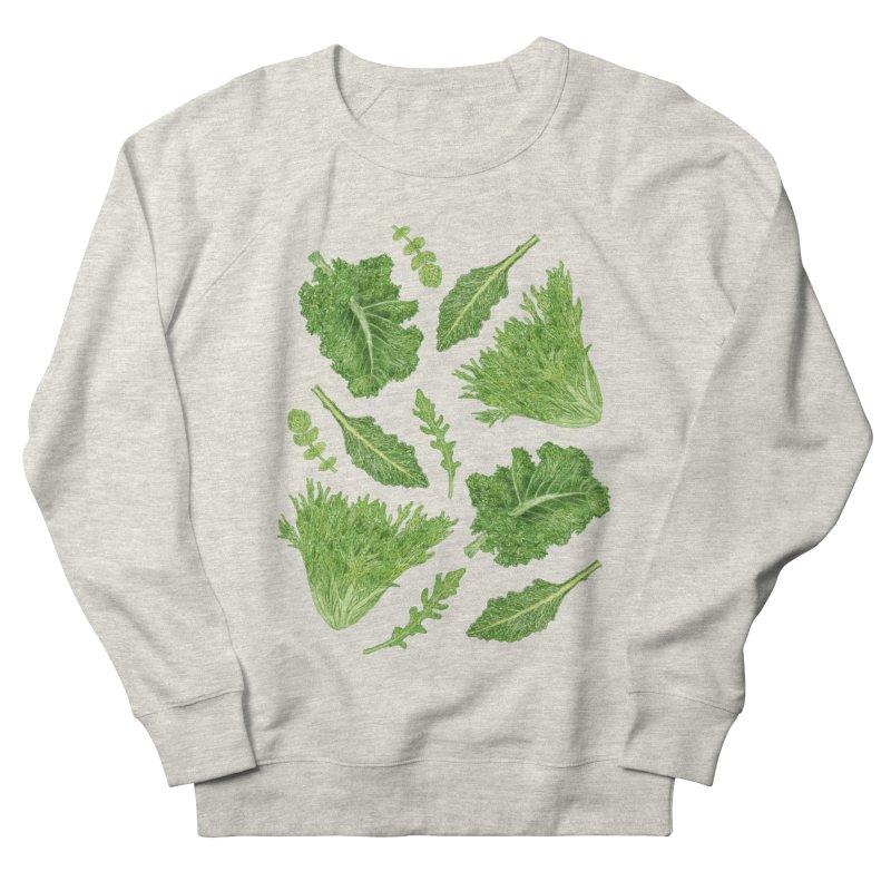 Leafy Men's French Terry Sweatshirt by Martina Scott's Shop