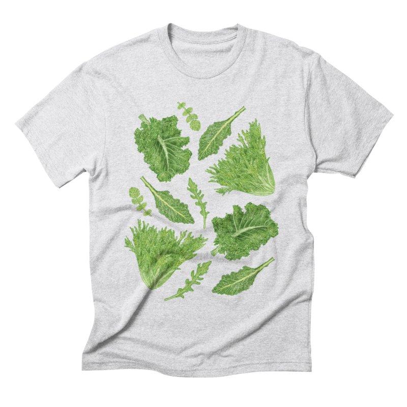 Leafy Men's Triblend T-Shirt by Martina Scott's Shop