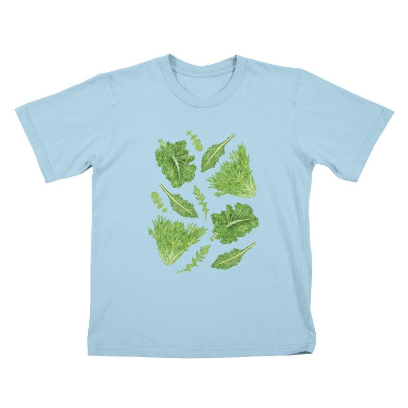 Leafy Kids T-Shirt by Martina Scott's Shop