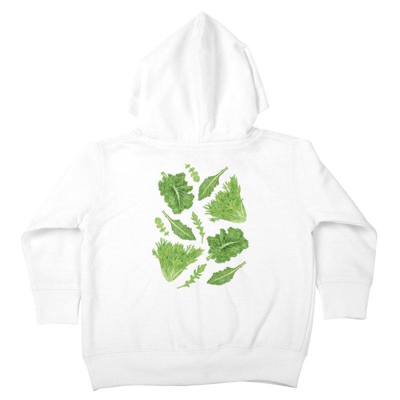 Leafy Kids Toddler Zip-Up Hoody by Martina Scott's Shop