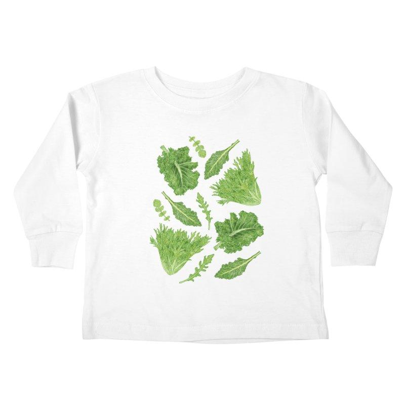 Leafy Kids Toddler Longsleeve T-Shirt by Martina Scott's Shop