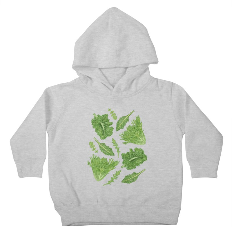 Leafy Kids Toddler Pullover Hoody by Martina Scott's Shop