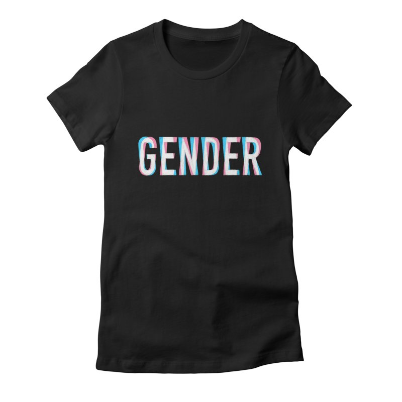 Gender Bender Women's Fitted T-Shirt by Martina Scott's Shop