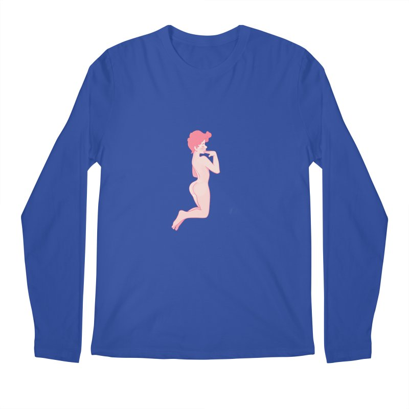 Pretty Boy Strawberry Men's Regular Longsleeve T-Shirt by Martin Bedolla's Artist Shop
