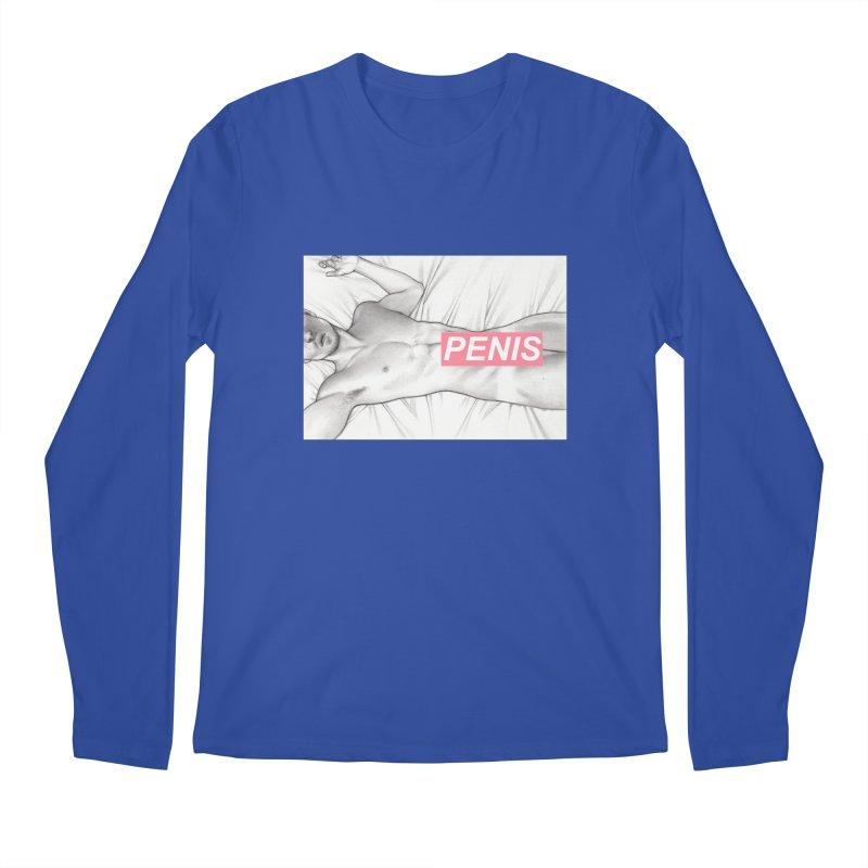 PENIS I Men's Regular Longsleeve T-Shirt by Martin Bedolla's Artist Shop