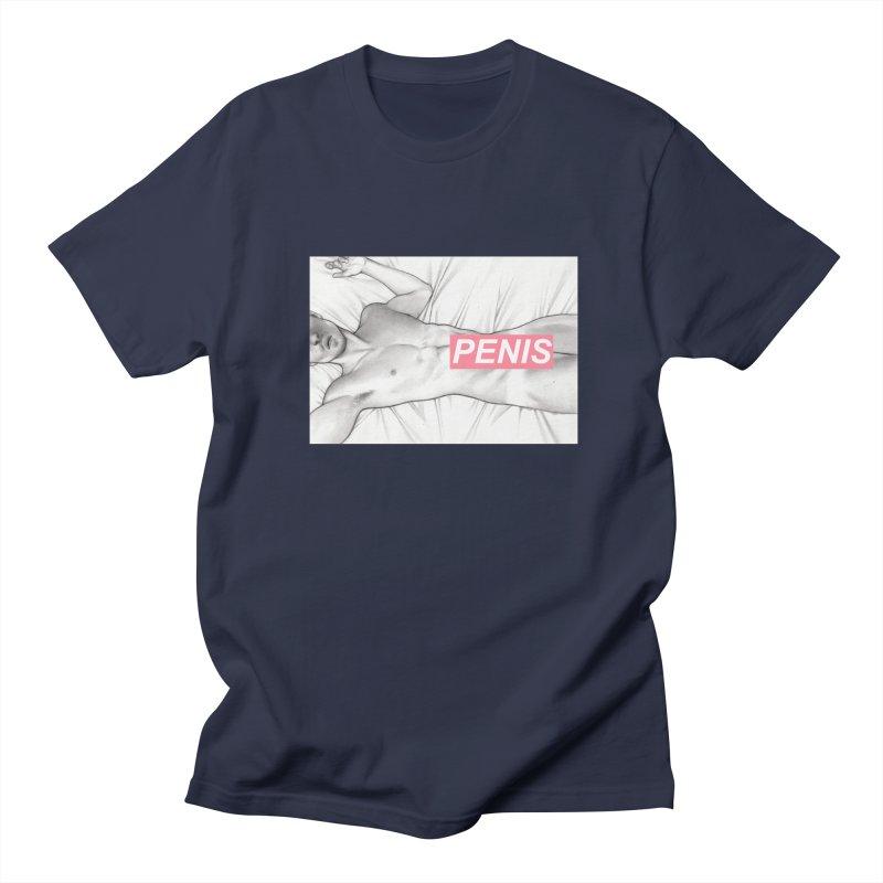 PENIS I Men's Regular T-Shirt by Martin Bedolla's Artist Shop