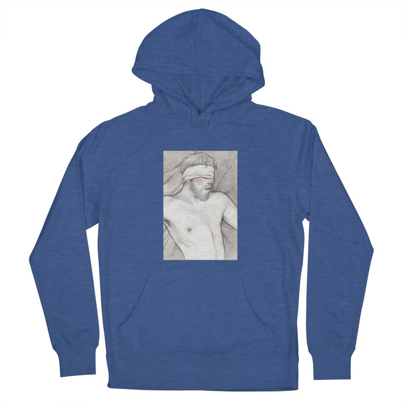 YES DADDY Men's French Terry Pullover Hoody by Martin Bedolla's Artist Shop