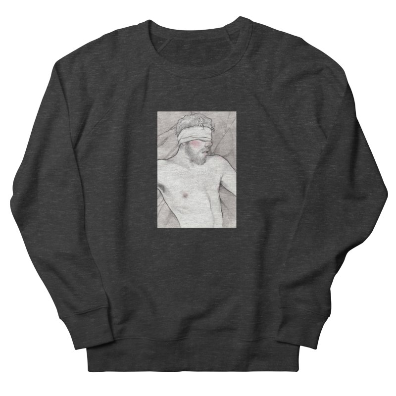 YES DADDY Men's French Terry Sweatshirt by Martin Bedolla's Artist Shop