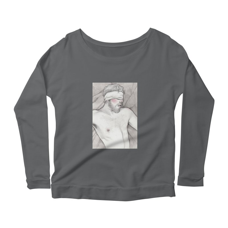 YES DADDY Women's Scoop Neck Longsleeve T-Shirt by Martin Bedolla's Artist Shop