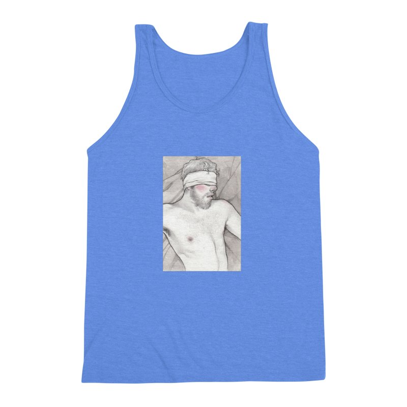 YES DADDY Men's Triblend Tank by Martin Bedolla's Artist Shop