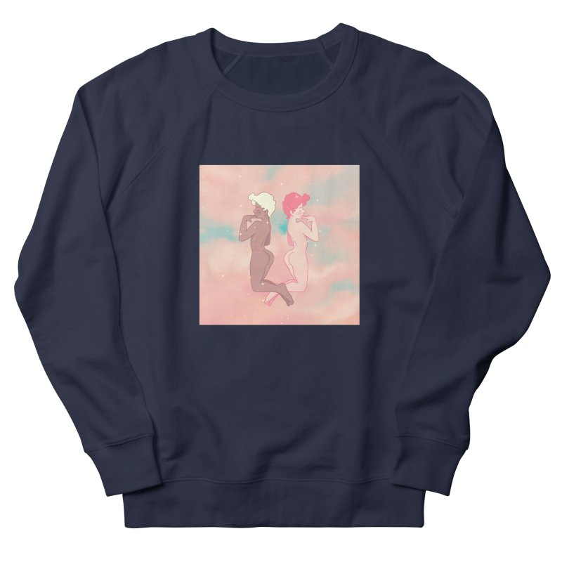 Pretty Boys Women's French Terry Sweatshirt by Martin Bedolla's Artist Shop