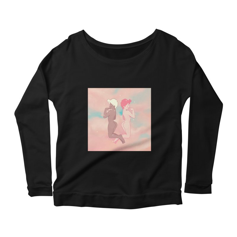 Pretty Boys Women's Scoop Neck Longsleeve T-Shirt by Martin Bedolla's Artist Shop