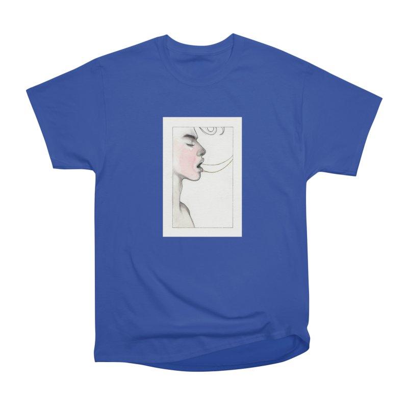 BREATHE Women's Heavyweight Unisex T-Shirt by Martin Bedolla's Artist Shop