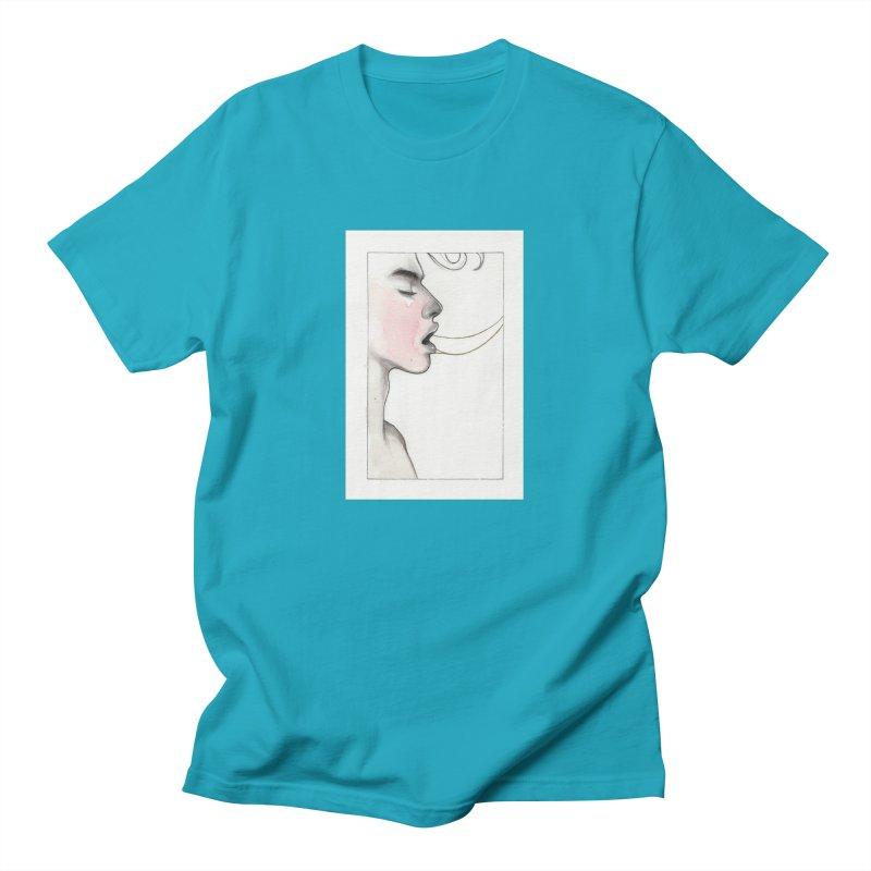 BREATHE Women's Regular Unisex T-Shirt by Martin Bedolla's Artist Shop