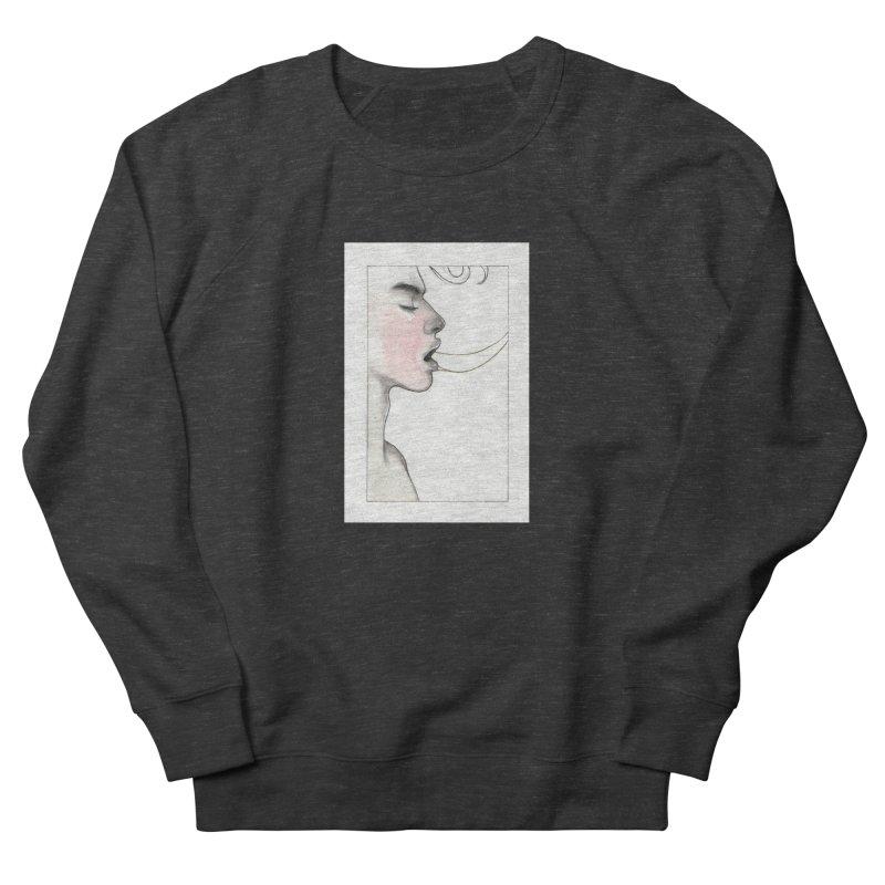 BREATHE Women's French Terry Sweatshirt by Martin Bedolla's Artist Shop