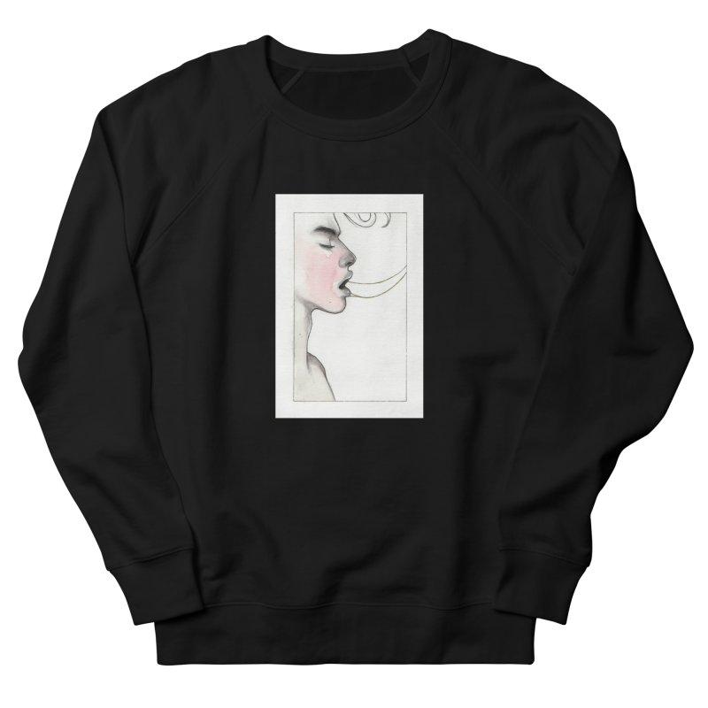 BREATHE Men's French Terry Sweatshirt by Martin Bedolla's Artist Shop