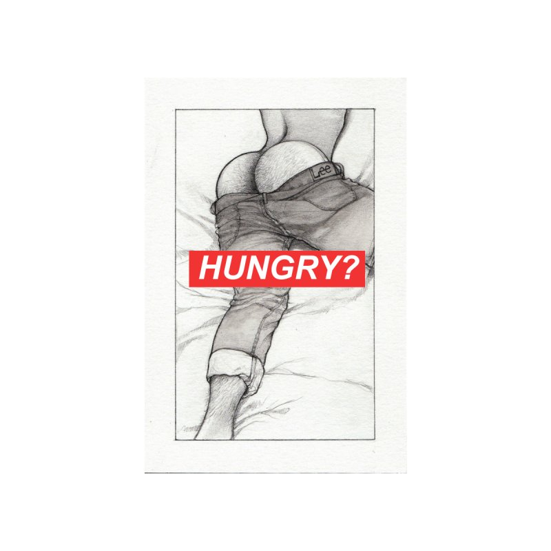 HUNGRY? Men's Tank by Martin Bedolla's Artist Shop