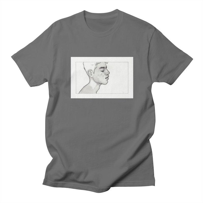FACIAL Men's T-Shirt by Martin Bedolla's Artist Shop