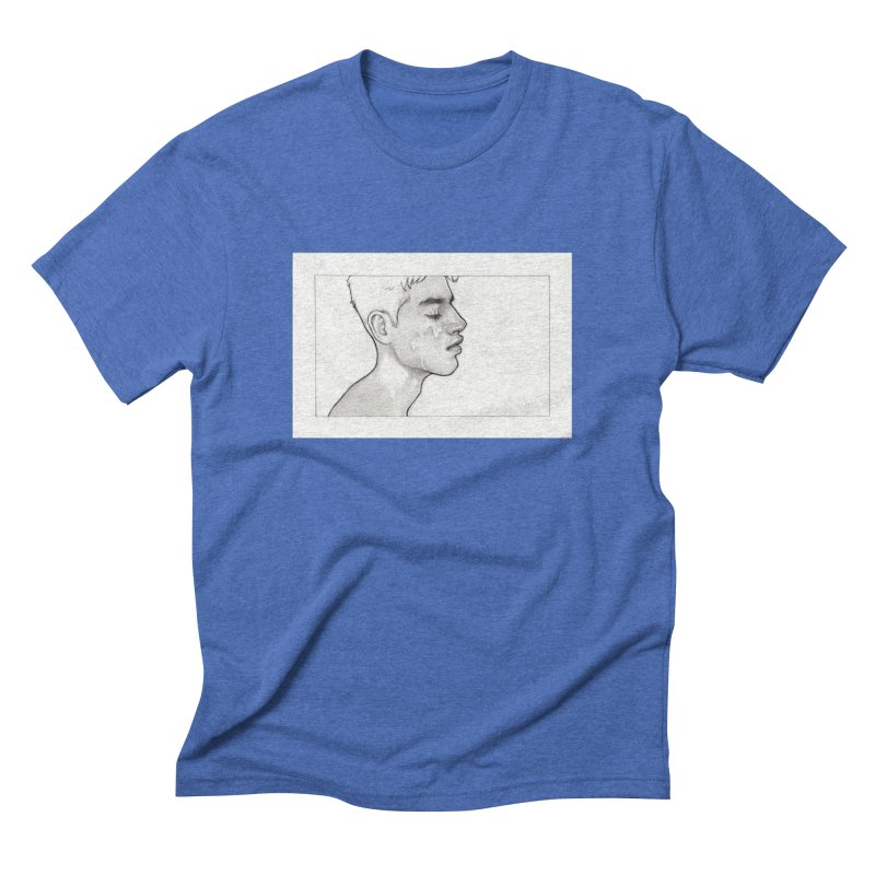 FACIAL Men's Triblend T-Shirt by Martin Bedolla's Artist Shop