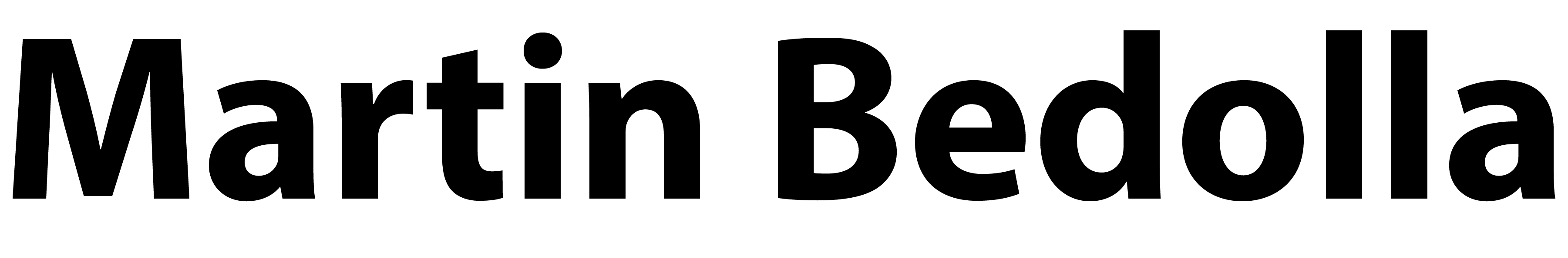 Martin Bedolla's Artist Shop Logo