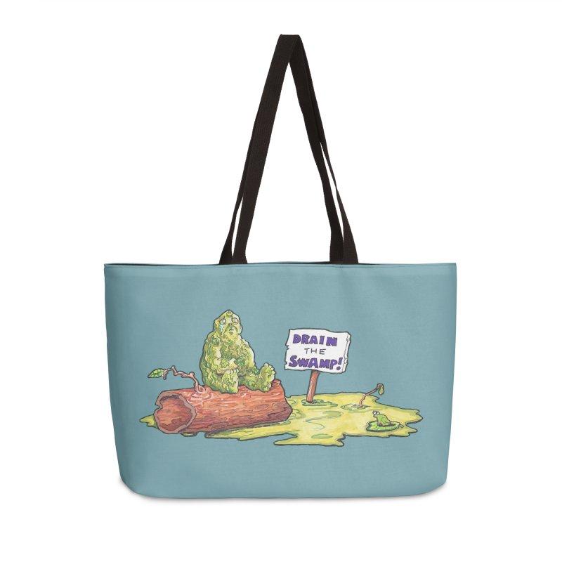 Swamp Thing Down in Weekender Bag by Martin EaZee