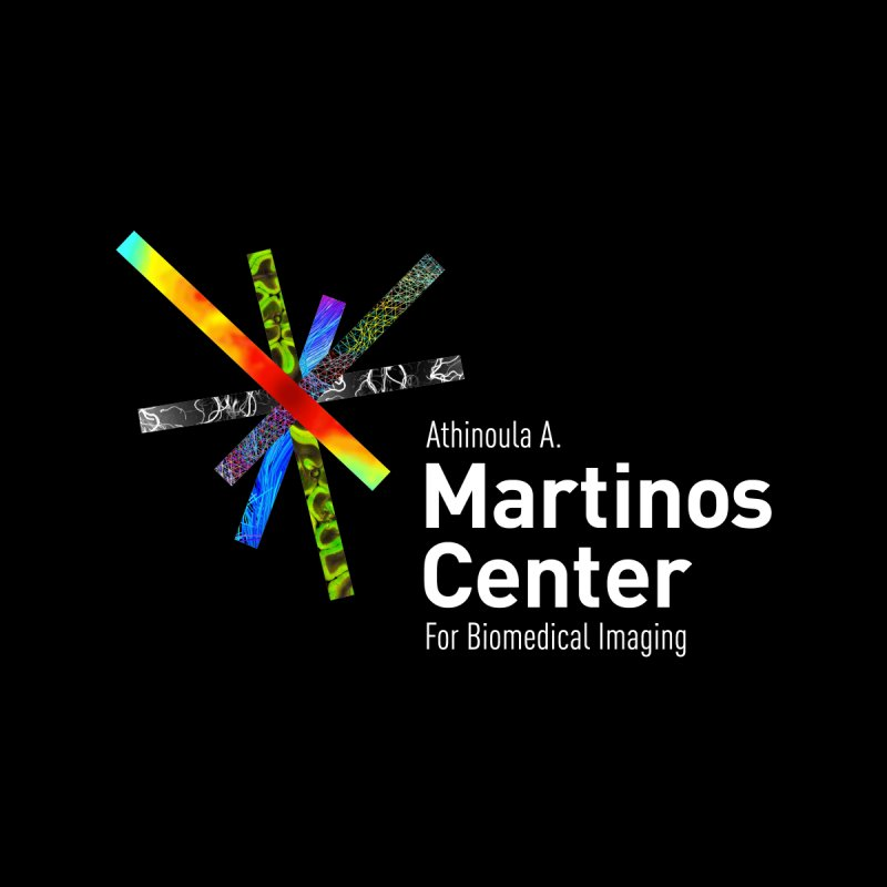 Martinos Center Logo (White Text) Home Shower Curtain by martinos's Artist Shop