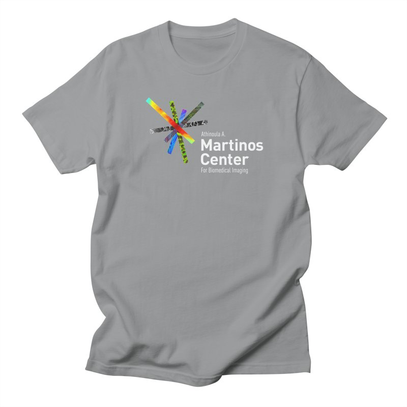 Martinos Center Logo (White Text) Women's Unisex T-Shirt by martinos's Artist Shop