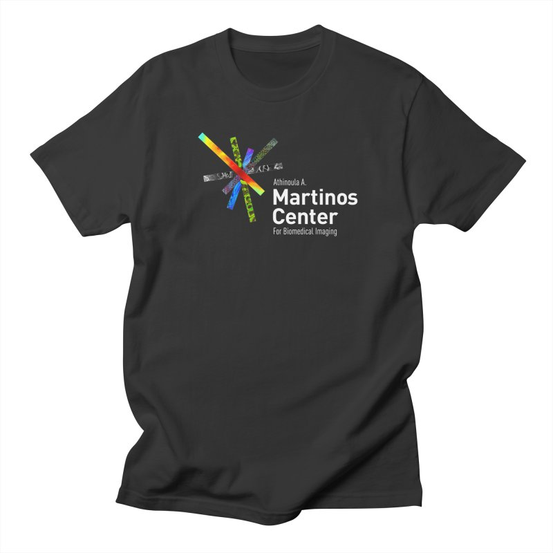 Martinos Center Logo (White Text) Men's Regular T-Shirt by martinos's Artist Shop