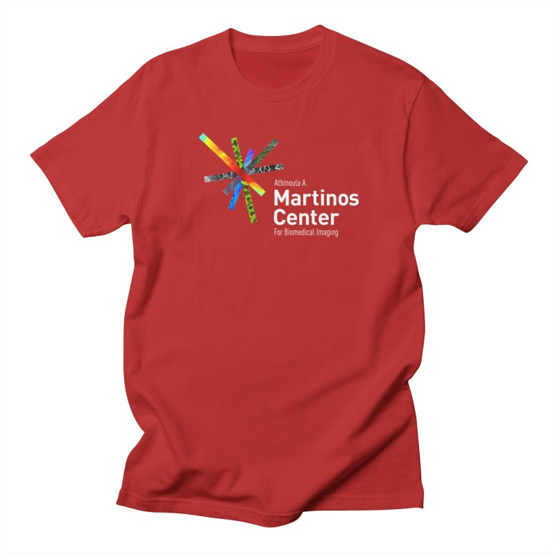 Martinos Center Logo (White Text) Women's Unisex T-Shirt by martinos's Artist Shop