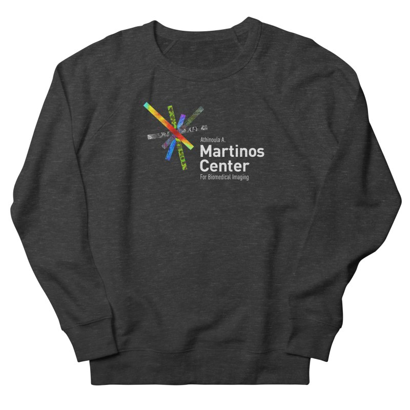 Martinos Center Logo (White Text) Men's Sweatshirt by martinos's Artist Shop