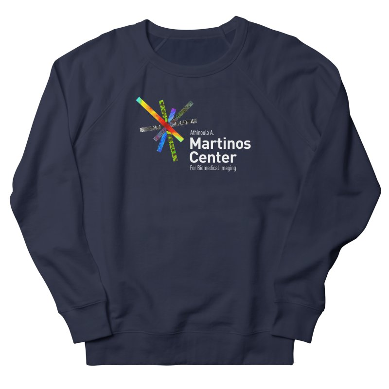 Martinos Center Logo (White Text) Men's French Terry Sweatshirt by martinos's Artist Shop