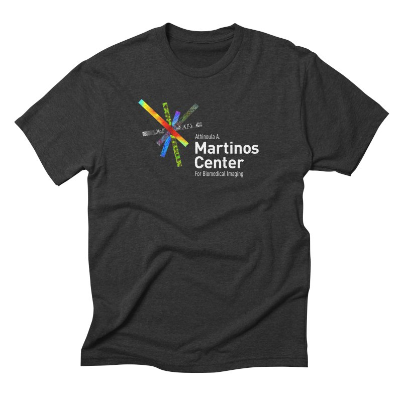 Martinos Center Logo (White Text) Men's Triblend T-Shirt by martinos's Artist Shop