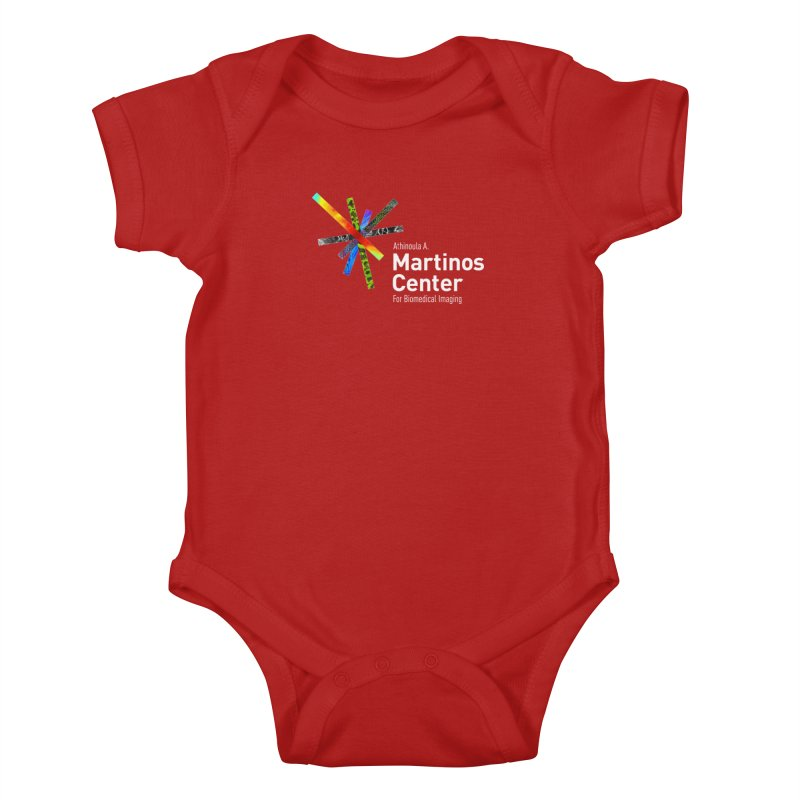 Martinos Center Logo (White Text) Kids Baby Bodysuit by martinos's Artist Shop