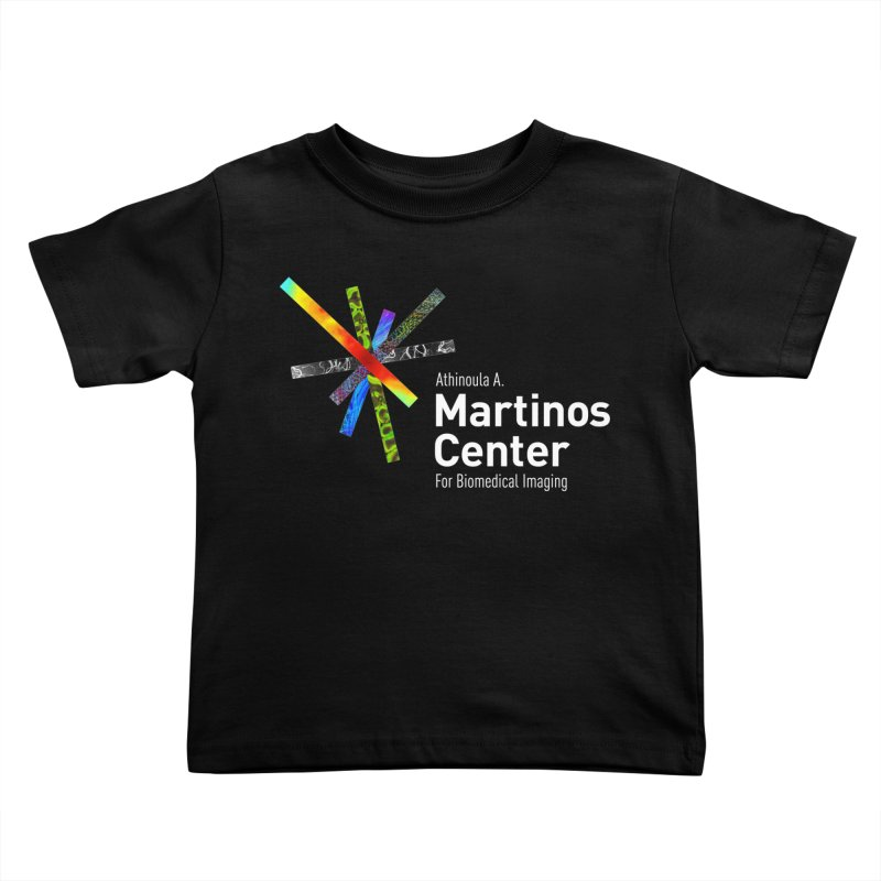 Martinos Center Logo (White Text) Kids Toddler T-Shirt by martinos's Artist Shop