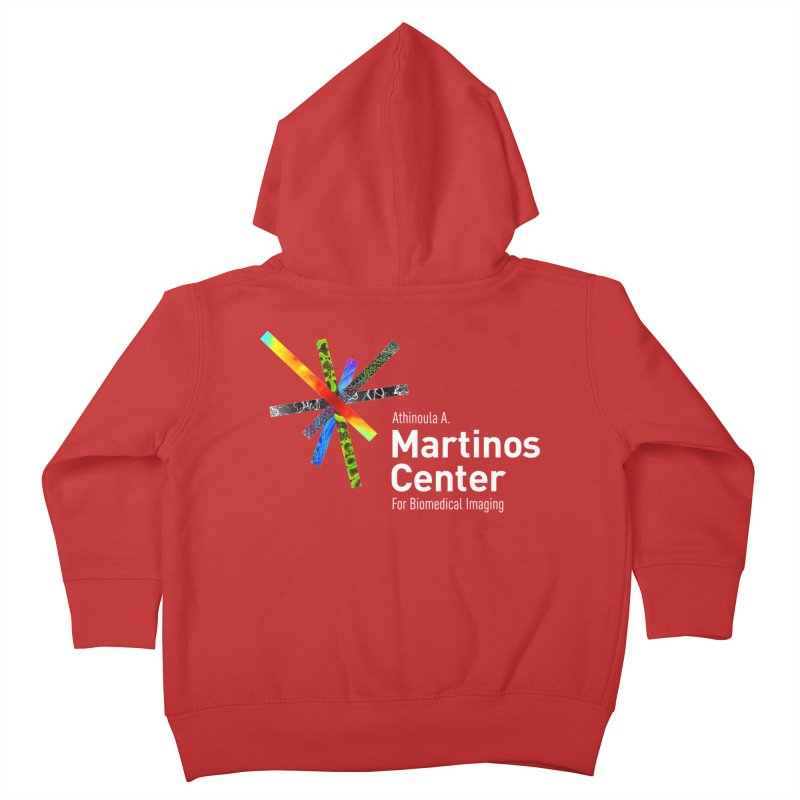 Martinos Center Logo (White Text) Kids Toddler Zip-Up Hoody by martinos's Artist Shop