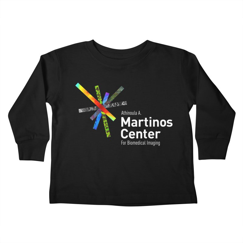 Martinos Center Logo (White Text) Kids Toddler Longsleeve T-Shirt by martinos's Artist Shop