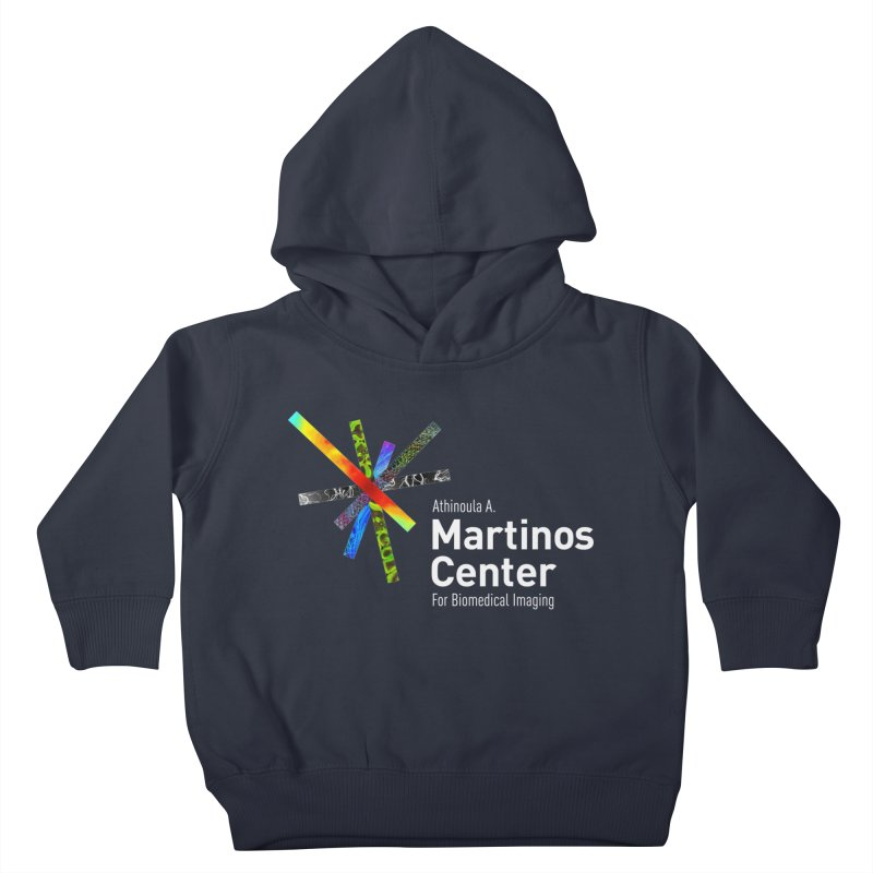 Martinos Center Logo (White Text) Kids Toddler Pullover Hoody by martinos's Artist Shop