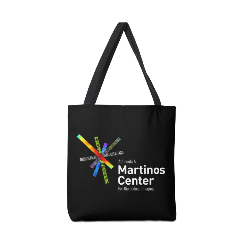 Martinos Center Logo (White Text) Accessories Tote Bag Bag by martinos's Artist Shop