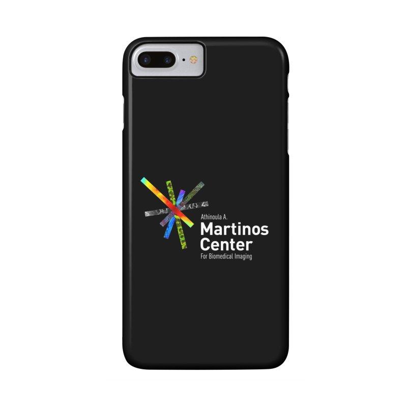 Martinos Center Logo (White Text) Accessories Phone Case by martinos's Artist Shop
