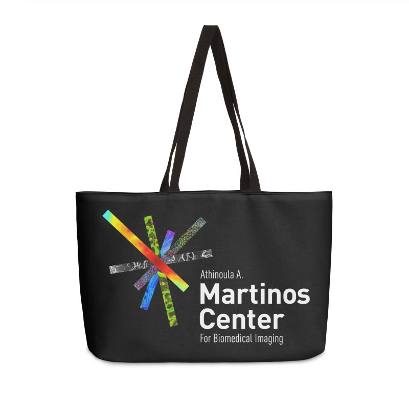 Martinos Center Logo (White Text) Accessories Bag by martinos's Artist Shop