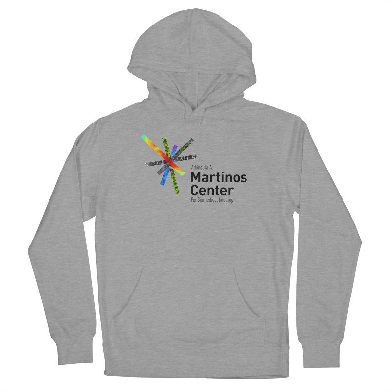 Martinos Center Logo (Black Text) Women's Pullover Hoody by martinos's Artist Shop