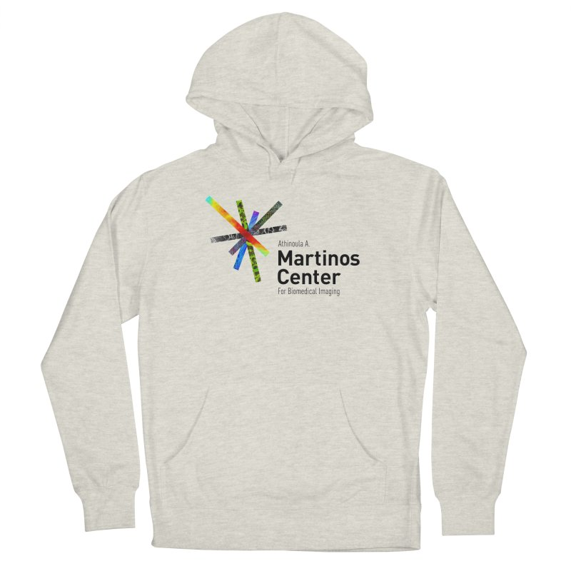 Martinos Center Logo (Black Text) Men's Pullover Hoody by martinos's Artist Shop