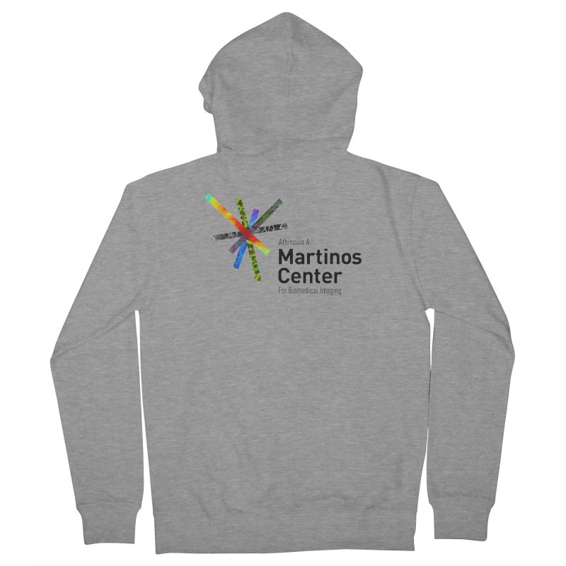 Martinos Center Logo (Black Text) Women's French Terry Zip-Up Hoody by martinos's Artist Shop