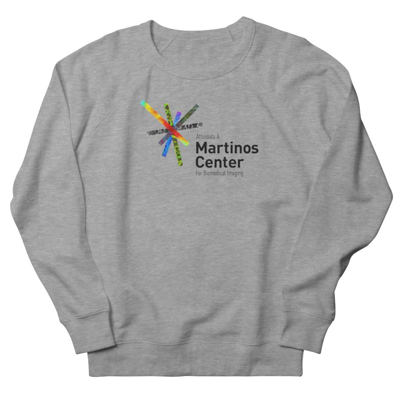 Martinos Center Logo (Black Text) Women's French Terry Sweatshirt by martinos's Artist Shop