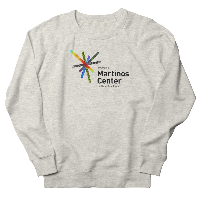 Martinos Center Logo (Black Text) Men's French Terry Sweatshirt by martinos's Artist Shop